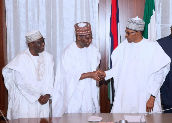 Buhari receives UNGA President Tijjani Muhammad Bande