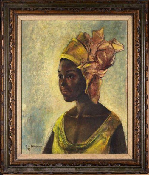 Christine: the newly found Ben Enwonwu's paint found in Texas