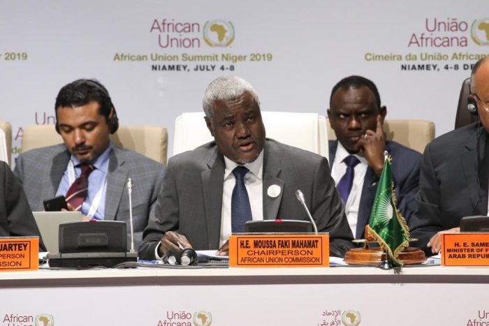 Moussa Faki chairman of AU Commission