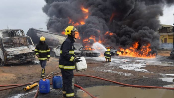 Ijegun pipeline explosion