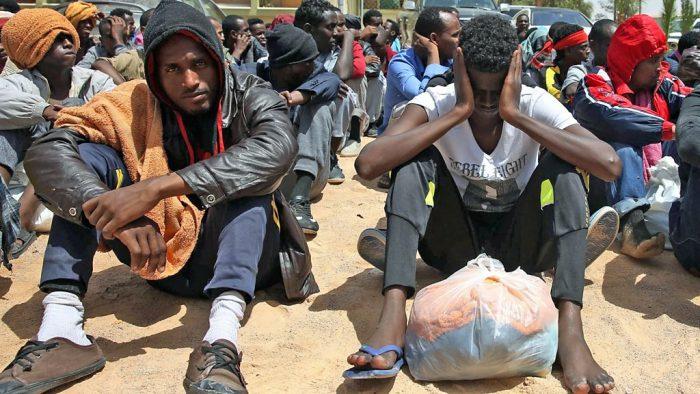 Migrants in Libya