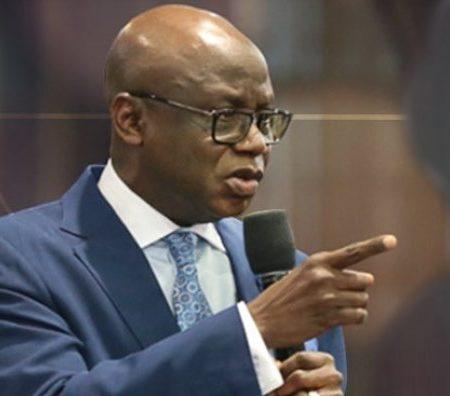 File Pastor Tunde Bakare mulls a national movement against Buhari's tyranny