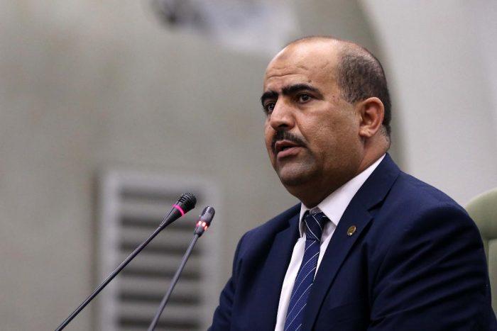 Slimane Chenine, speaker of Algeria Parliament