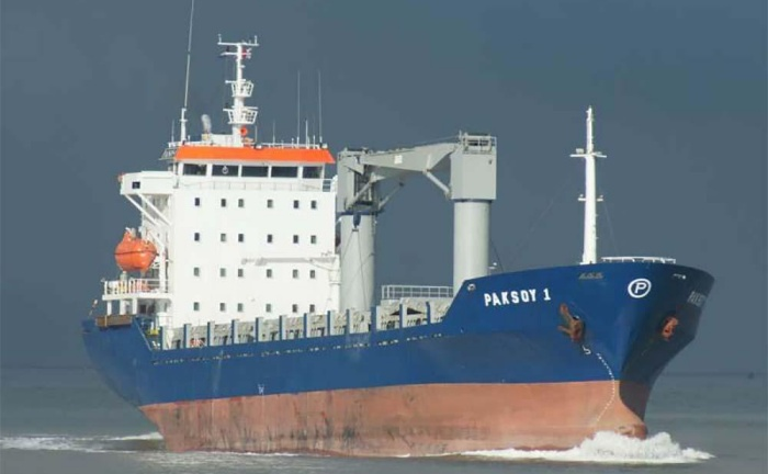 The Turkish flagged ship stormed by pirates at weekend in Gulf of Guinea