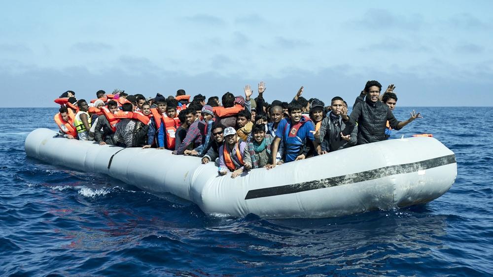 Tunisia Migrant boat