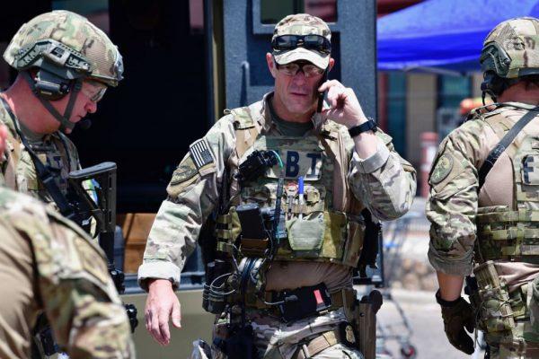 US SWAT police