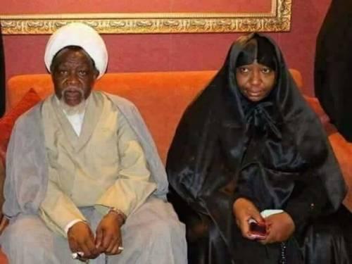 El-Zakzaky and wife Zeenat: detained by Buhari's govt since December 2015