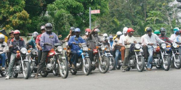 Okada-riders-protest-arrest-of-colleagues-in-Lekki