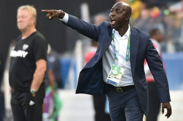 Samson Siasia: banned for life by FIFA