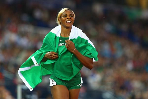 Blessing Okagbare: cleared to compete in Tokyo Olympics 100m
