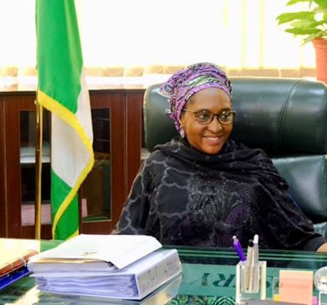 Minister of finance and budget, Zainab Ahmed