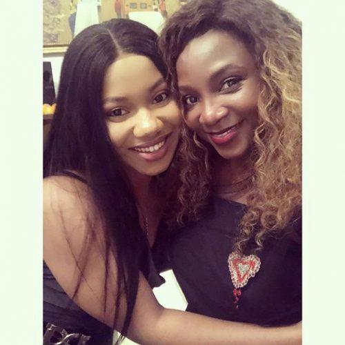 ASP Uju Okeke and Genevieve Nnaji: spot the difference