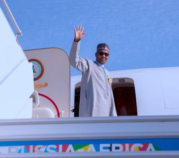 Buhari says bye bye to Sochi