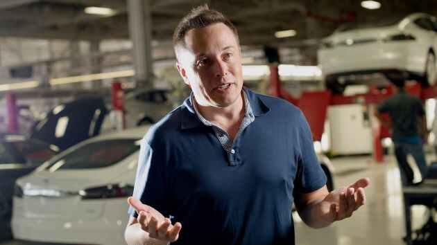Elon Musk, CEO of Tesla Inc