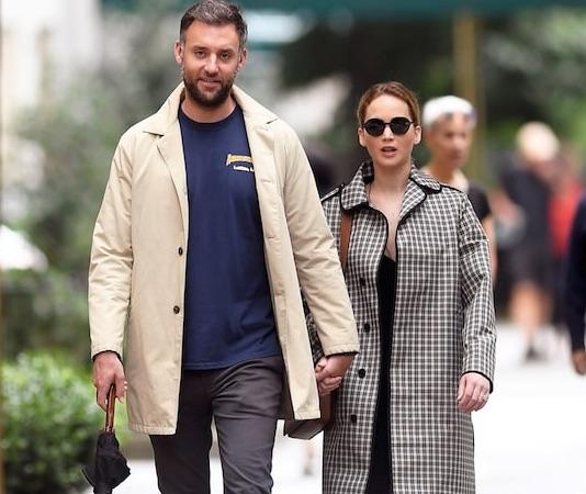 Jennifer Lawrence and Coooke Maroney