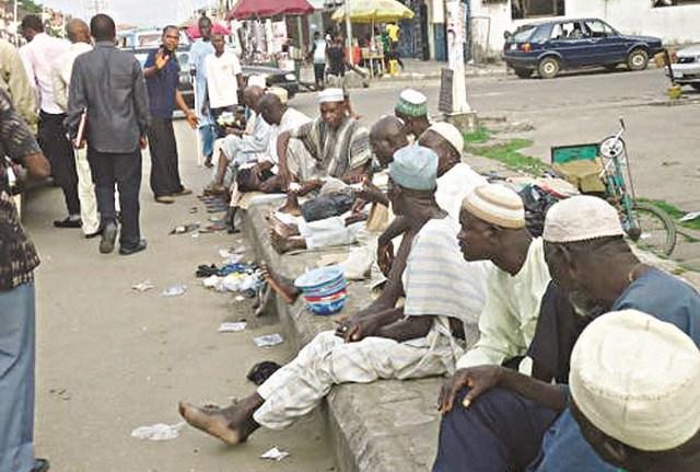 Kano street beggars