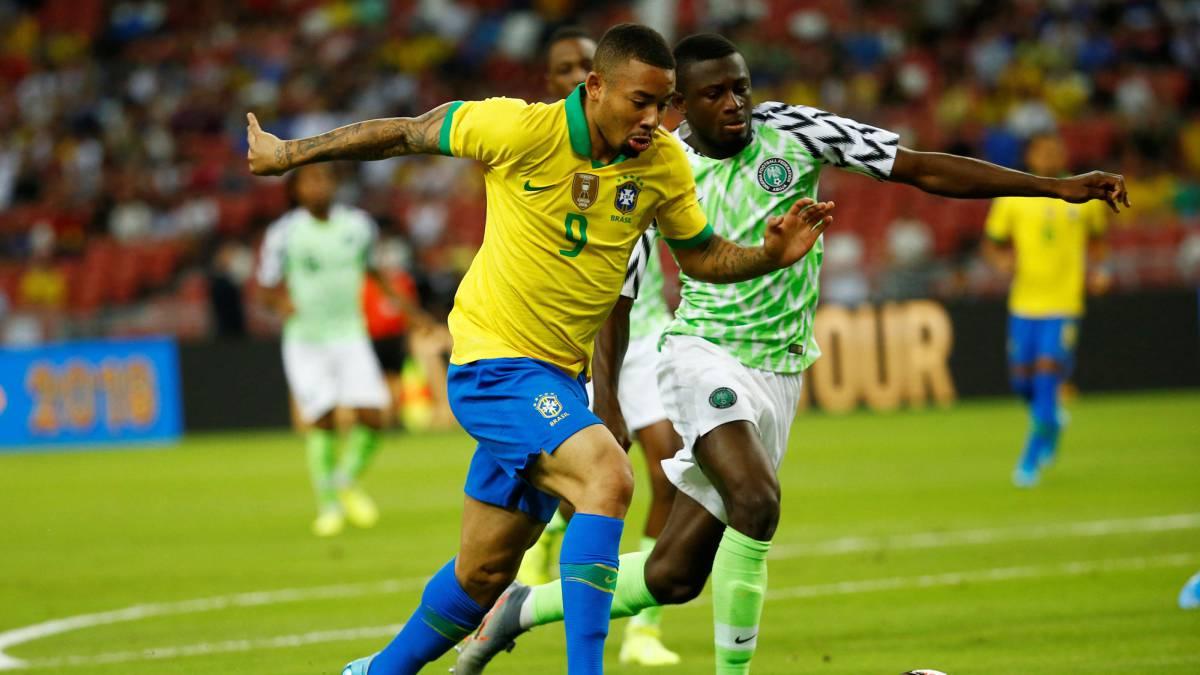 Nigeria v Brazil