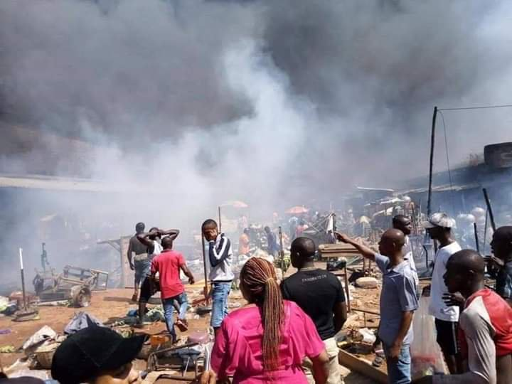 Onitsha fire disaster