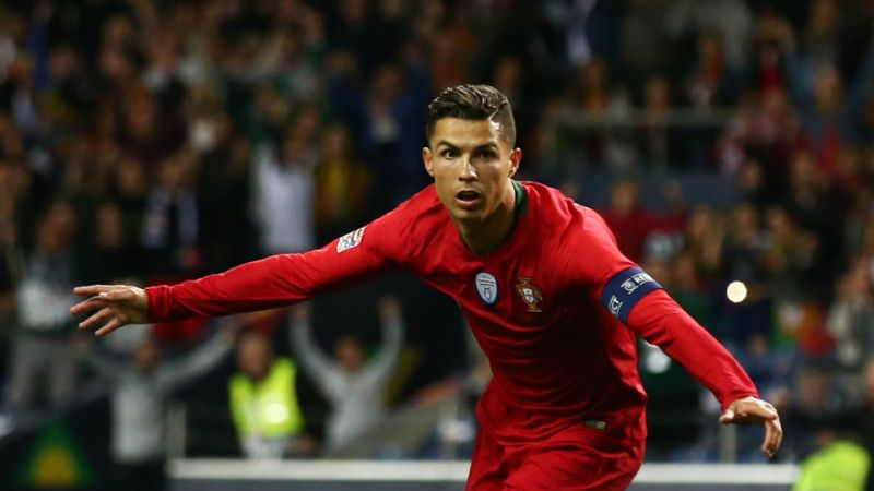 Ronaldo: reaches 700 goal mark