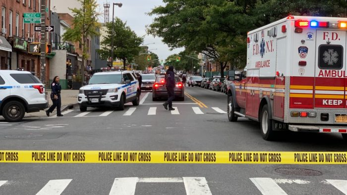 Shooting at a private club in Brooklyn on Saturday morning