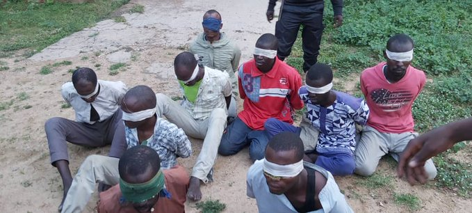The Boko Haram commanders captured by the Nigerian troops