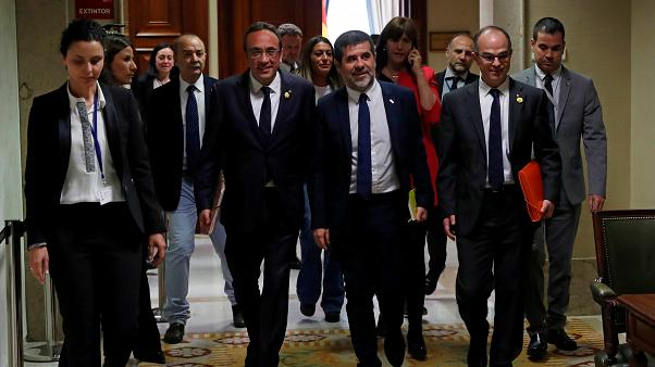The Catalan leaders convicted for sedition
