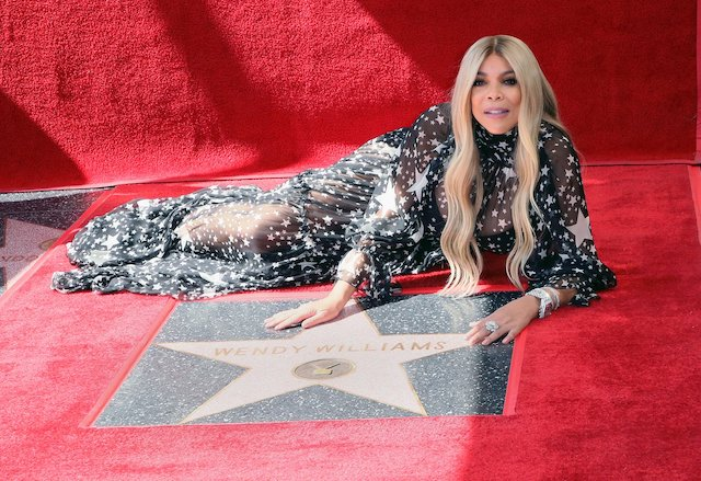 Wendy Williams at her Hollywood Walk of Fame event