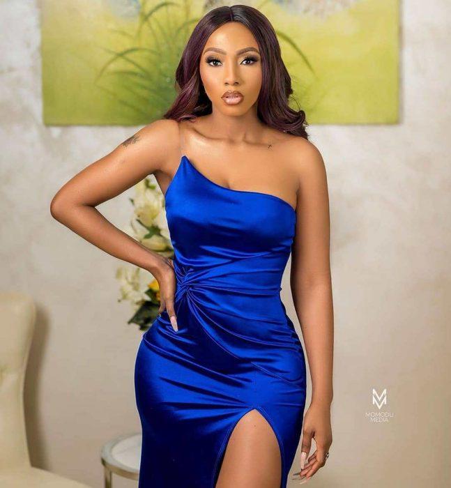 Photos: BBNaija's Mercy Eke in stunning outfit - P.M. News