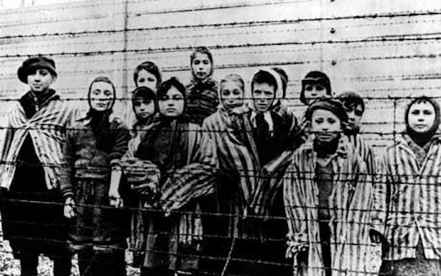 Nazi victims at auschwitz