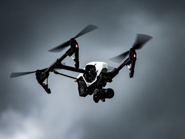 An armed drone