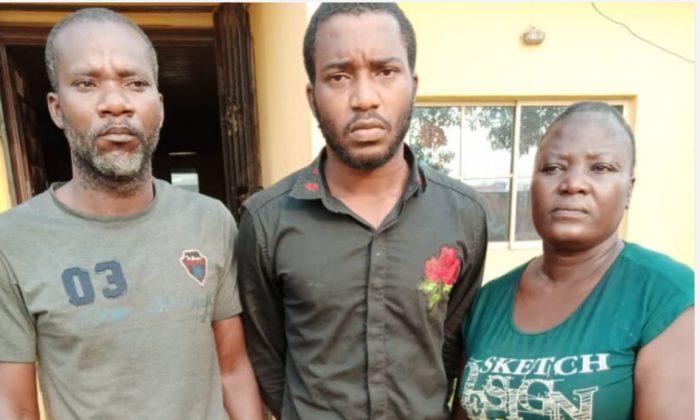 Prophet Segun Philip, Owolabi Adeeko and his mother