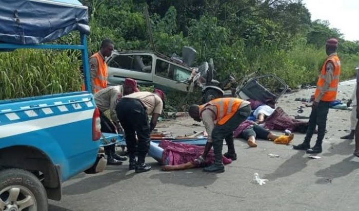 FRSC records 5,320 crashes, 2,471 deaths nationwide