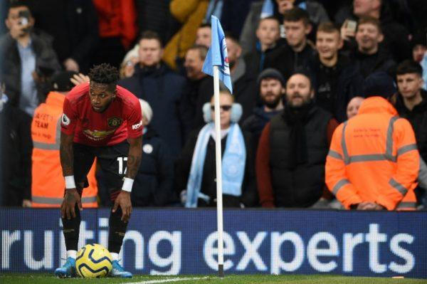 Manchester United midfielder, Brazilian Fred target of racist attack at Etihad Stadium on Saturday