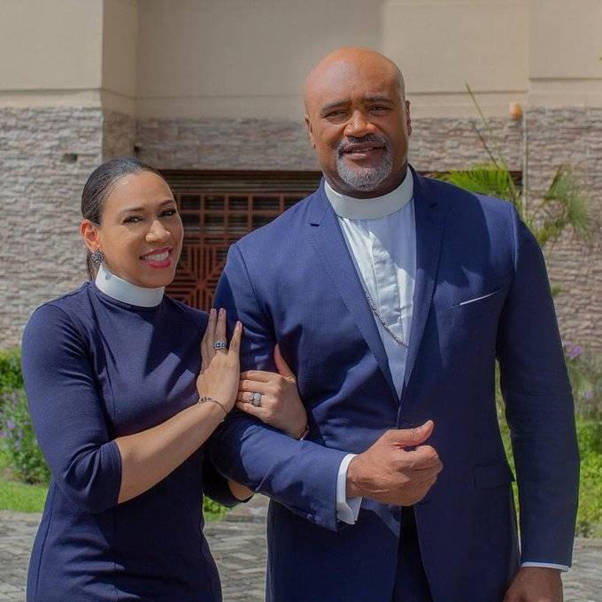 Pastor Paul adefarasin and his wife Ifeanyi