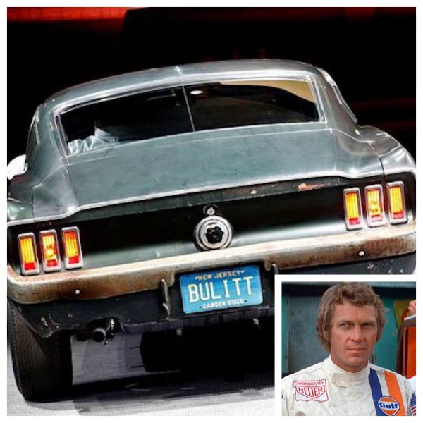 Steve McQueen and his 1968 Mustang