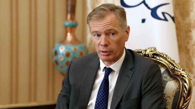British ambassador to Tehran Rob Macaire