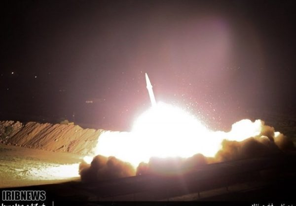 Iranian missile going to US target on Wednesday