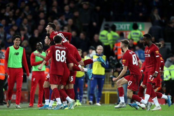 Liverpool edge Everton in FA Cup