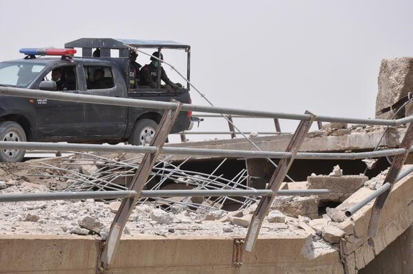 One of the bridges in Gamboru-Ngala destroyed by Boko Haram more than four years ago