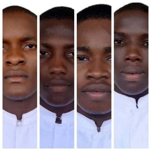 Pius Kanwai, Peter Umenukor, Michael Nnadi and Stephen Amos