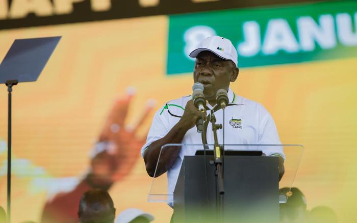 President Ramaphosa on Saturday
