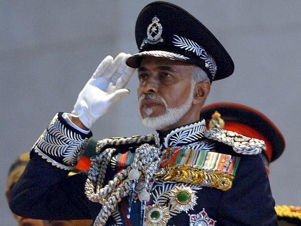 Sultan of Oman Qaboos bin Said al-Said