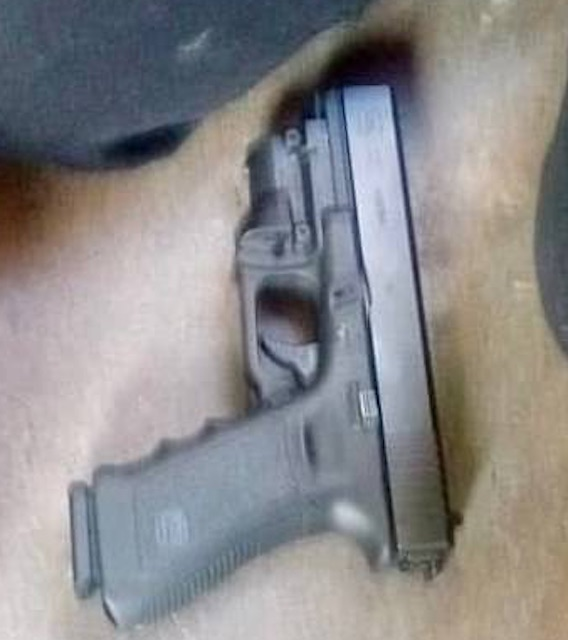 The gun used by the Mexican boy
