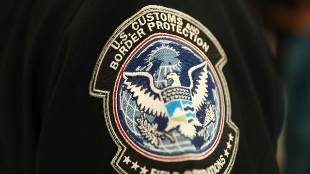 US Customs and Border Patrol badge