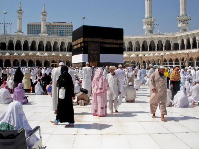 Visitors to Saudi Arabia during Umrah