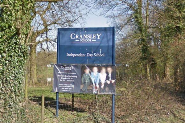 Cransley School, in Northwich,