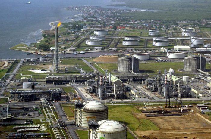 Shell's oil terminal in Bonny