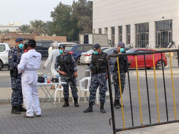 Kuwaiti National Guards for coronavirus