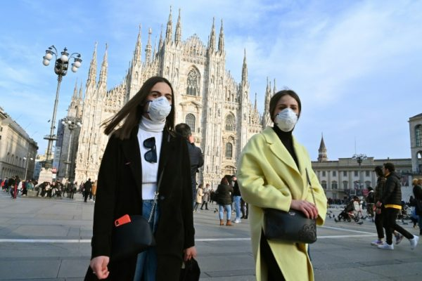 Coronavirus disrupting life in Italy