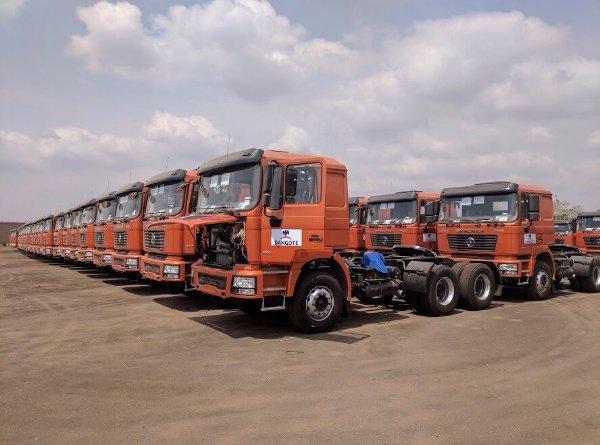 Dangote buys over 3000 trucks assembled at ANAMMCO in Enugu